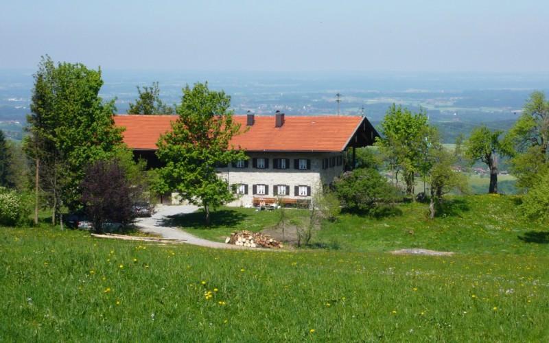 Aenanenhütte im Sommer